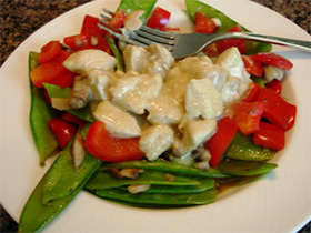 Curried Chicken and Veggies