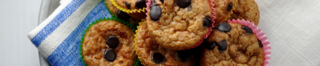 Quinoa Chocolate Chip Muffins