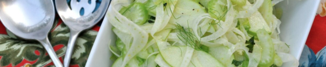 Fennel, Celery and Green Apple Slaw