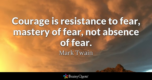 Inspirational Quotes About Courage and Courage Quotes - Brainyquote - DAILY QUOTE IMAGE