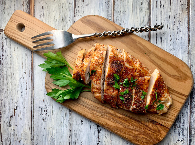 Foodie Fitness (Perfect Baked Chicken Breast!)