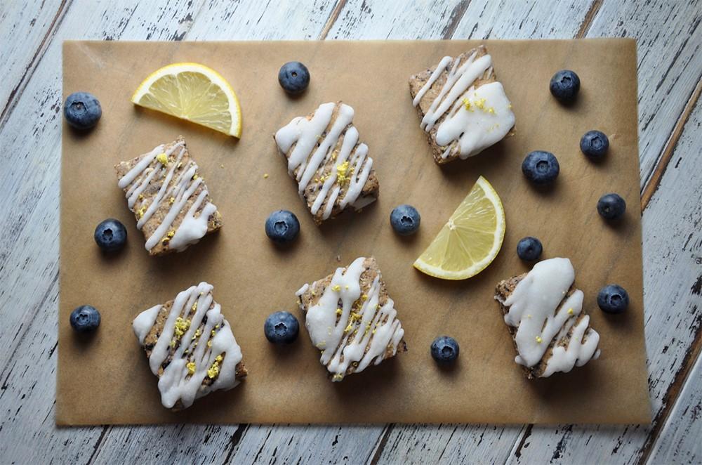 Lemon Blueberry Protein Bar
