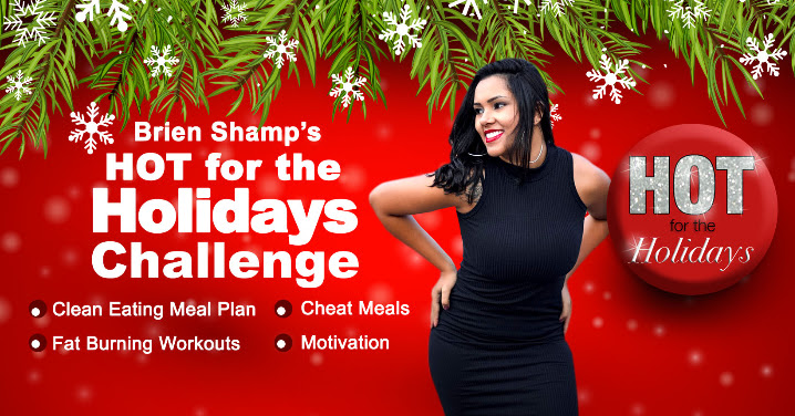 It's HERE! Registration for the Hot for the Holidays Challenge​​​ is NOW OPEN!